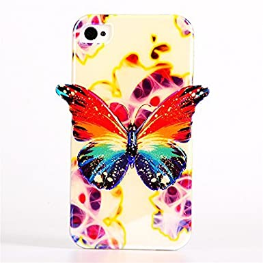 5S funda, iPhone 5S caso, Bluray xyx bestdealuk mariposa ...