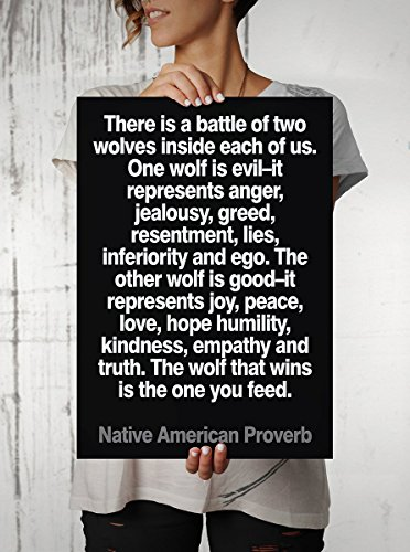 Native American Proverb Quote Poster Hom - Native American Wall Decor Shopping Results