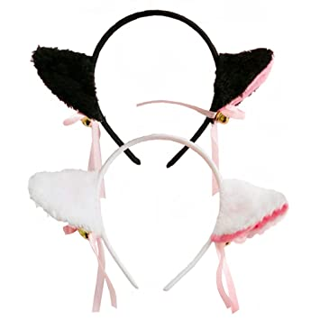 Novelty & Special Use Kids Costumes & Accessories 1 Pair Hot Sale New Sweet Funny 6 Colors Bell Cat Ears Hair Clip Cosplay Anime Costume Halloween Birthday Party Hair Accessories