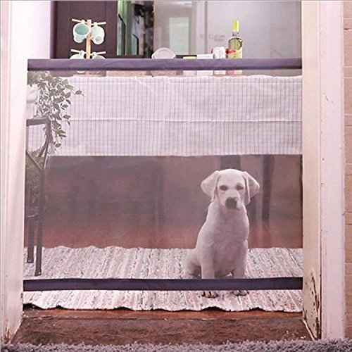 Hewady Magic Gate,Pet Safety Enclosure,Portable Folding Safe Guard Install Anywhere Keep Distance for Your Pets from Kitchen Or Outdoor