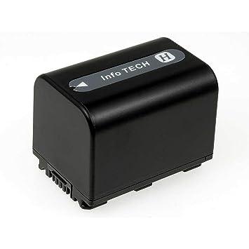 para Sony DCR-DVD650 DCR-HC52 DCR-SR200 HDR-H DCR-HC51 DCR-SR85 DCR-HC53 HDR-CX7 DCR-HC20 DCR-HC62 DCR-HC21 1600mAh HDR-CX100 NP-FH60 DCR-HC22 DCR-SR45 NP-FH100 Batería ChiliPower Sony NP-FH70 DCR-SR65 DCR-SR82 DCR-SR42 DCR-HC48