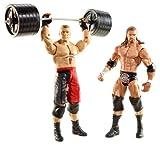 WWE Series 20 Battle Pack: Brock Lesnar vs. Triple H Figure, 2-Pack