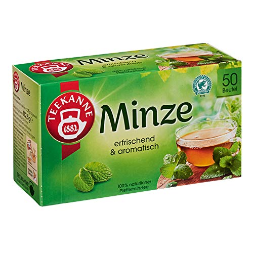 (Fix Minze (Peppermint) Tea Bags 50 tea bags by Teekanne)