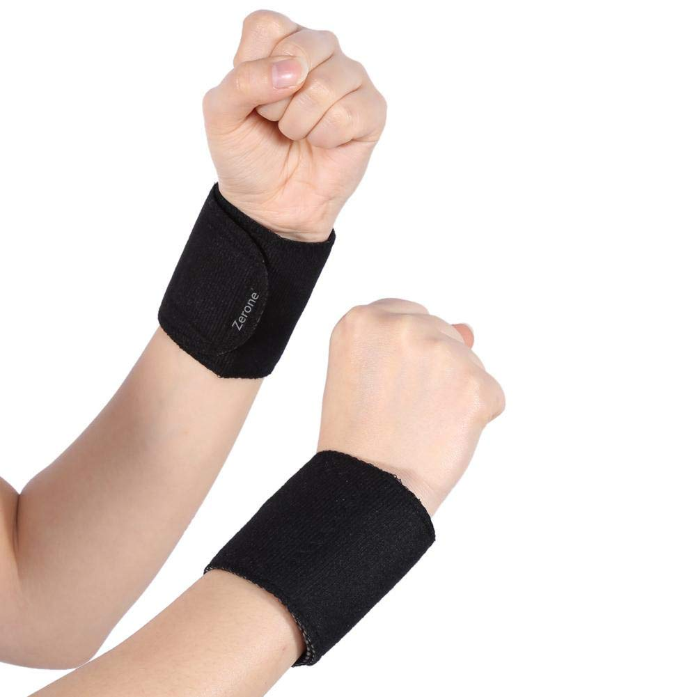 Wrist Brace Tourmaline Magnetic Massage Therapy Self-Heating Support Protector