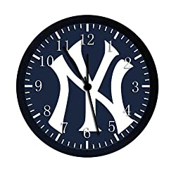 Extra Large Size 14 Yankees Wall Clock Home Office Decor or Nice For Gift W100