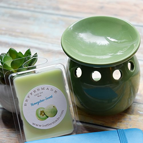 Honeydew Melon Scented soy wax melts - pack of 6 cubes ()