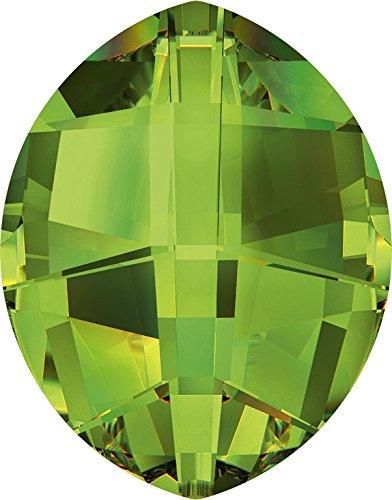 Cristalli a Swarovski 1188108 Pietre Operate 4224 MM 14,0X 11,0 Peridot F, 72 Pezzi