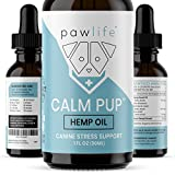 Hemp Oil for Dogs - Full Spectrum Hemp Calming Extract for Stress and Anxiety Support - Omega 3 and 6 Fatty Acids - Hip and Joint Support for Dogs - 1oz 250mg