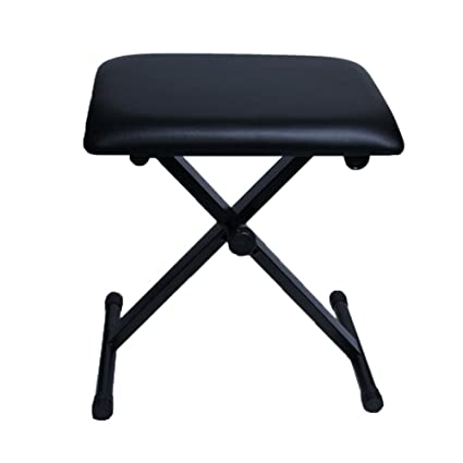 Prime Amazon Com Piano Stools Height Adjustable Folding X Frame Caraccident5 Cool Chair Designs And Ideas Caraccident5Info