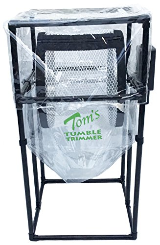 TOM'S TUMBLER Fastest Electric Motorized Bladeless Dry Leaf Trimmer for Hydroponic Growing Pollenator Great for Flower Herb Plant Cultivating Separating Looks Hand Trimmed TTT1900-S The Original