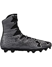 Under Armour Highlight MC Lacrosse Cleat - Black Metallic Silver 38788468b45