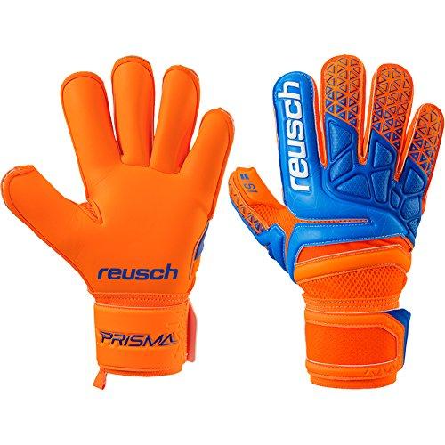 Reusch Mens Prisma Prime S1 Roll Finger Goalkeeper Gloves For Soccer