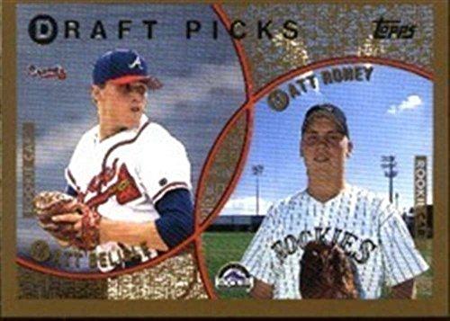 - 1999 Topps 438 Matt Belisle Atlanta Braves Matt Roney Rockies