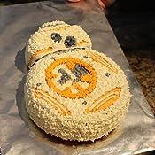 Amazon.com: Star Wars BB-8 silicona molde de tarta – Ideal ...