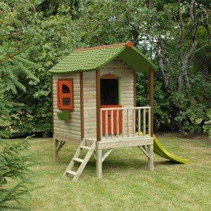 maison de jardin pour enfants mon cabanon couleur marron matire bois - Maison De Jardin Enfant En Bois