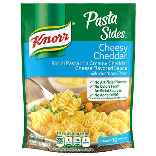 Knorr Pasta Sides Dish, Cheesy Cheddar, 4.3 oz