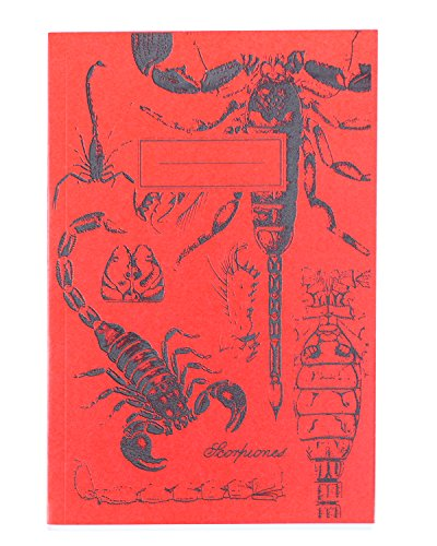 (Cognitive Surplus Glow-in-the-Dark Scorpion Screen Printed Softcover Journal Lined College Ruled 100% Recycled Paper, Purple)