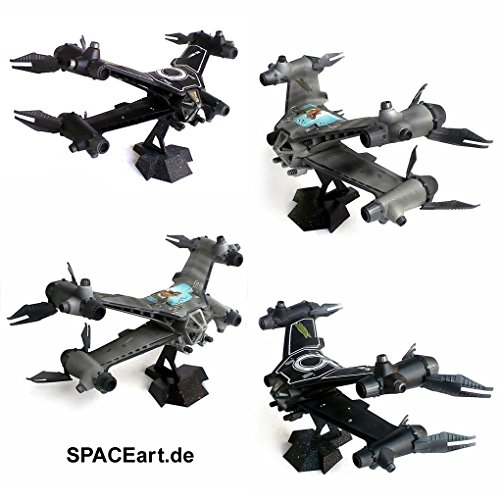 Babylon 5 Starfury Mk 1...revell!: 1:72 Scale Model..56 Pieces..skill -