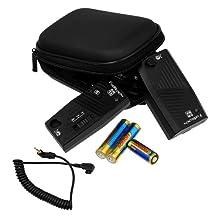 Fotodiox Pro FX-380 2.4GHz 32-Channel Wireless Shutter Release Kit, 1S for Sony Alpha DSLRs A350, A300, A200, A700