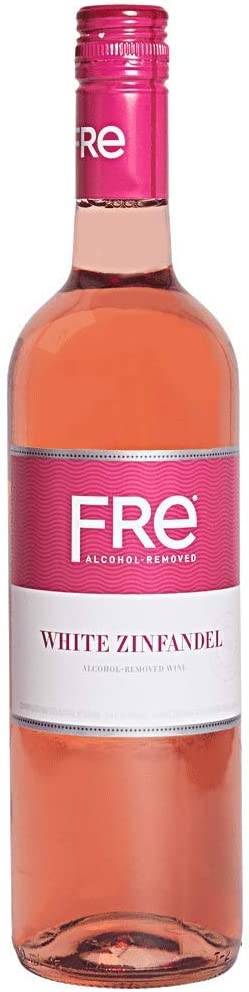 Sutter Home Fre White Zinfandel Non-alcoholic Wine (3 Bottles)