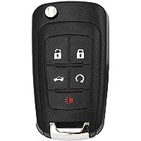 Replacement Flip Folding Remote car Key Shell For Chevrolet Cruze Epica Lova Camaro Impala 3 Button 5Button HU100 Blade…