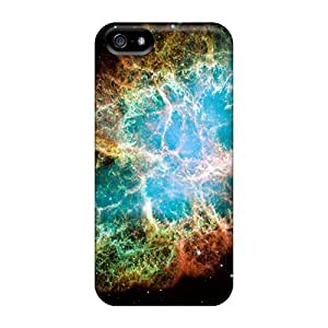 Protective Tpu Case With Fashion Design For Iphone 5/5s (crab Nebula)