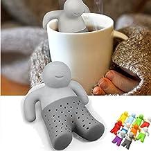 Mr Tea Infuser Teapot Cute Tea Strainer Silicone Coffee Tea Strainer