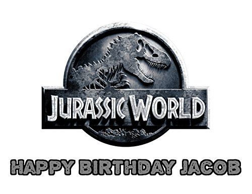 Jurassic World High Quality Free Photo For Cake