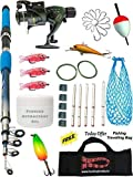 Hunting Hobby Fishing Spinning Rod, Reel, Accessories Combo Set, 7ft