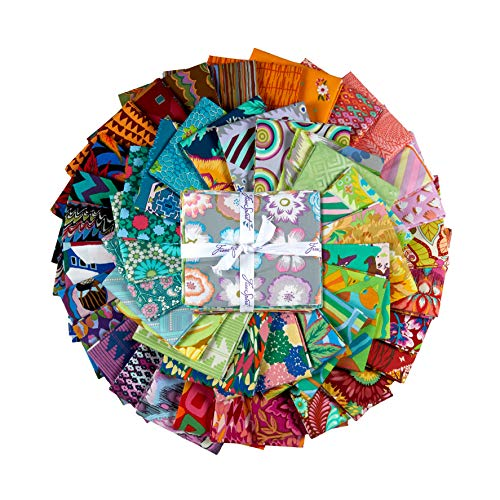 FreeSpirit Fabrics 50 Piece Designer Fat Quarter Fabric, Multicolor from Free Spirit Fabrics