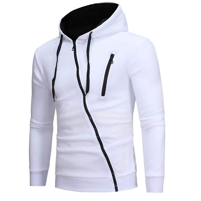 7f286b42cc UOMOGO Felpe Sportive con Cappuccio Felpe con Cappuccio Invernale con  Sweatshirt Invernale con Cappuccio Hoodies Men Jumper Hooded Long Sleeve  T-Shirt Uomo ...