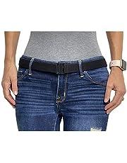 """""""Tights Up"""" Zachte, rekbare, comfortabele elastische riem met platte gesp. Verstelbare, antislip achterkant (geen riemlussen nodig). Voor Leggings Dames"""