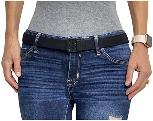 ZUOZUO Cintur/ón Unbuttoned Belt Elasticated Womens Dress Elasticated No Raised Elastic Waist Belt Unbuttoned Strapless Jeans Belt