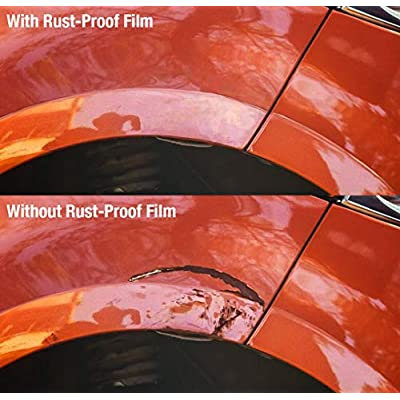 VViViD 3M Rust Proofing Clear Self-Adhesive Edge Sealing Vinyl for Automotive Paint Tape 6 Inch x 10ft Roll: Automotive