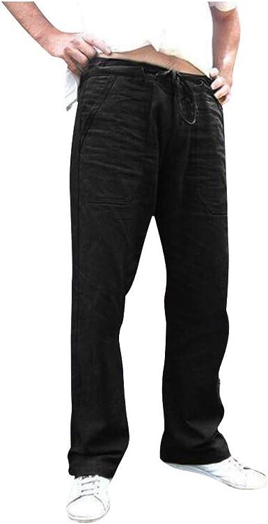 Pantalon Adaptado Hombre Color Gris Marino Tallas Grandes Pantalon Vestir Con Goma En La Cintura Verano Amazon Es Ropa Y Accesorios