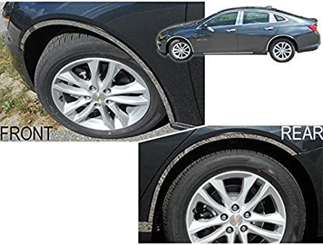 4pc Luxury FX Wheel Well Fender Trim Molding for 2015-2018 Chevy Tahoe