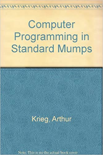 Amazon.in: Buy Computer Programming in Standard Mumps Book Online at ...