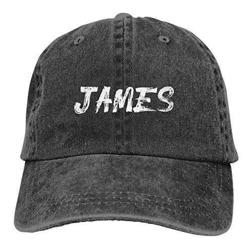- Custom Text Dad Hat Vintage Cotton Washed Cowboy Cap Personalized Cool Adjustable Festival Baseball Cap for Women Men Black