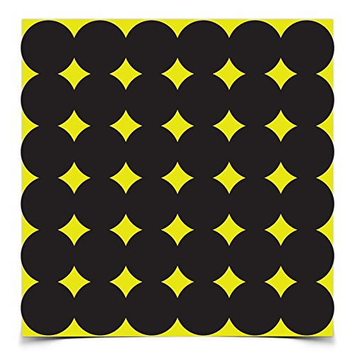 Birchwood Casey 34115 Shoot-N-C Target 270, 432  Self-Adhesive, 1 inch repair pasters