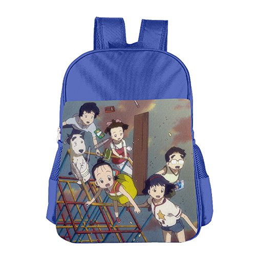 Welcome To The Space Show Kids Shoulders Bag RoyalBlue