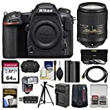 Nikon D500 Wi-Fi 4K Digital SLR Camera Body with 18-300mm VR Lens + 64GB Card + Case + Flash + Battery & Charger + Tripod + Kit Review