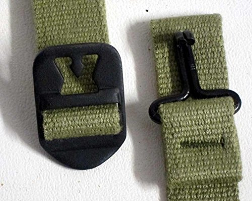 USA M1 Helmet Chinstrap WW2 Fixed Swivel Bale Infantry Navy Air Force WWII Pre-Sewn Chin Strap