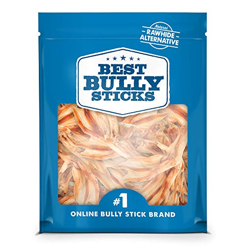 - Best Bully Sticks All-Natural Duck Feet Dog Treats (30 Pack) - Single-Ingredient & Fully Digestible - Supports Healthy Hips and Joints