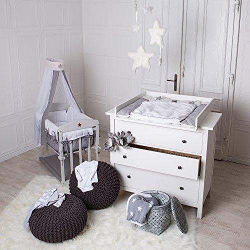 Wickelaufsatz für IKEA Hemnes, Hurdal Kommode in weiß