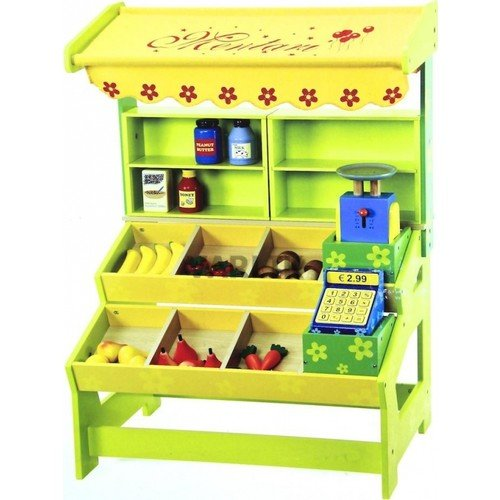 Serra Baby Mentari Wooden Supermarket Kit (Mt - 7209P) by Serra Baby