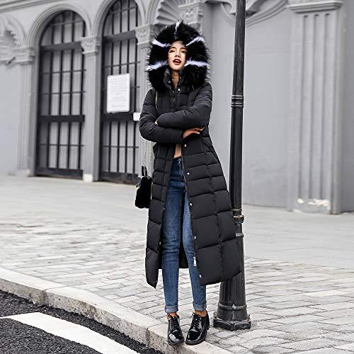 Chaquetas Negro Mujer Capa Ropa Ashop De Parka Reflectiva Abrigos Mujer Jacket Invierno Pullover q4axFxAn