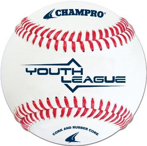 Champro Youth Baseball (Weiß, 8.5-inch) by Champro