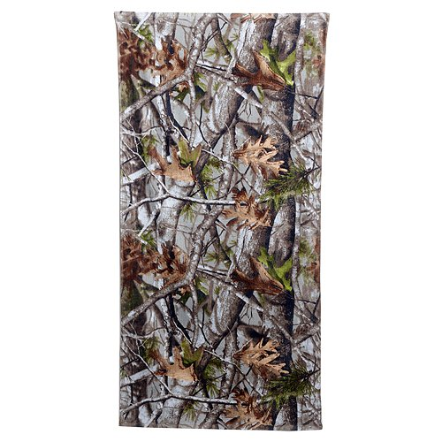 (Hunting Camo Beach Towel (30