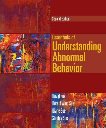 Cengage Advantage Books: Essentials of Understanding Abnormal Behavior