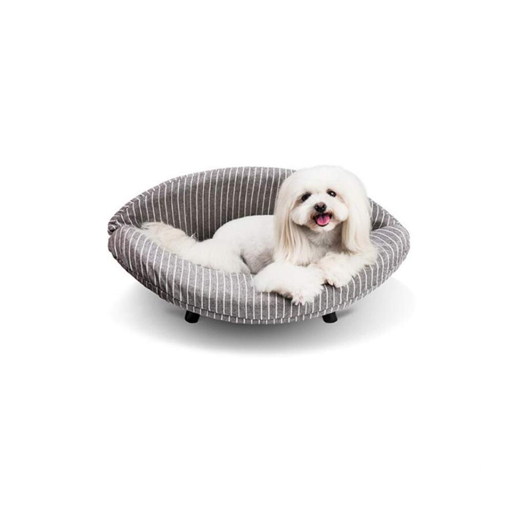 F YAMEIJIA Curved board pet soft pack bed dog cat litter small dog mat dog bed